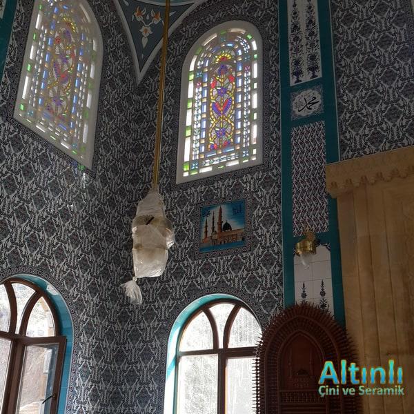 Cami Çinisi Karoları,